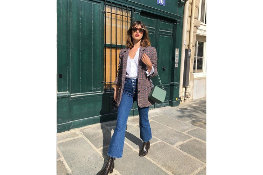 Jeanne Damas French Girl Jeans Blazer