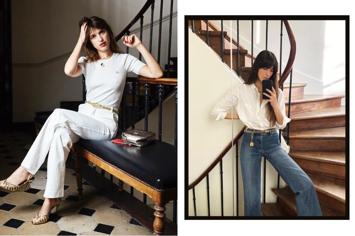 牛仔褲的 French Style 穿搭:只需法國女生最愛的 7 件單品!