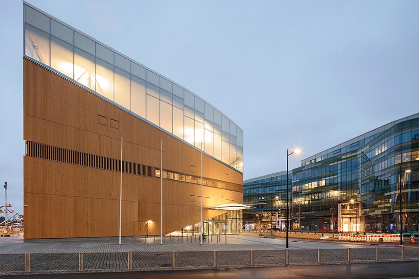 Finland Oodi Helsinki Central Library