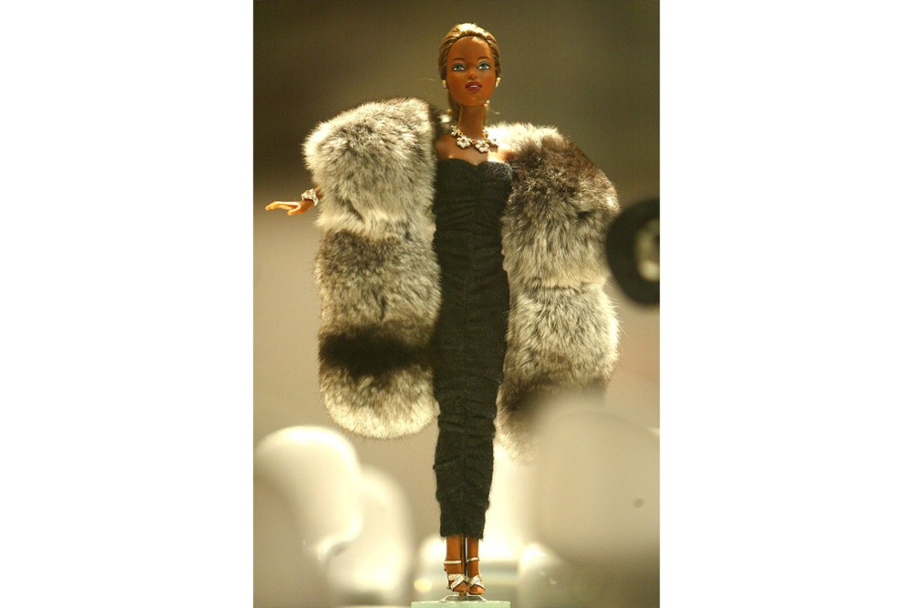 Gianmaria Buccellati Barbie doll dressed in Michael Kors
