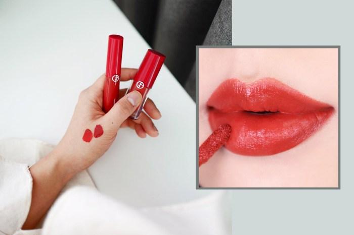 韓國 Giorgio Armani Beauty 推出限定唇釉顏色!是美得讓人瘋掉的「番茄紅色」!