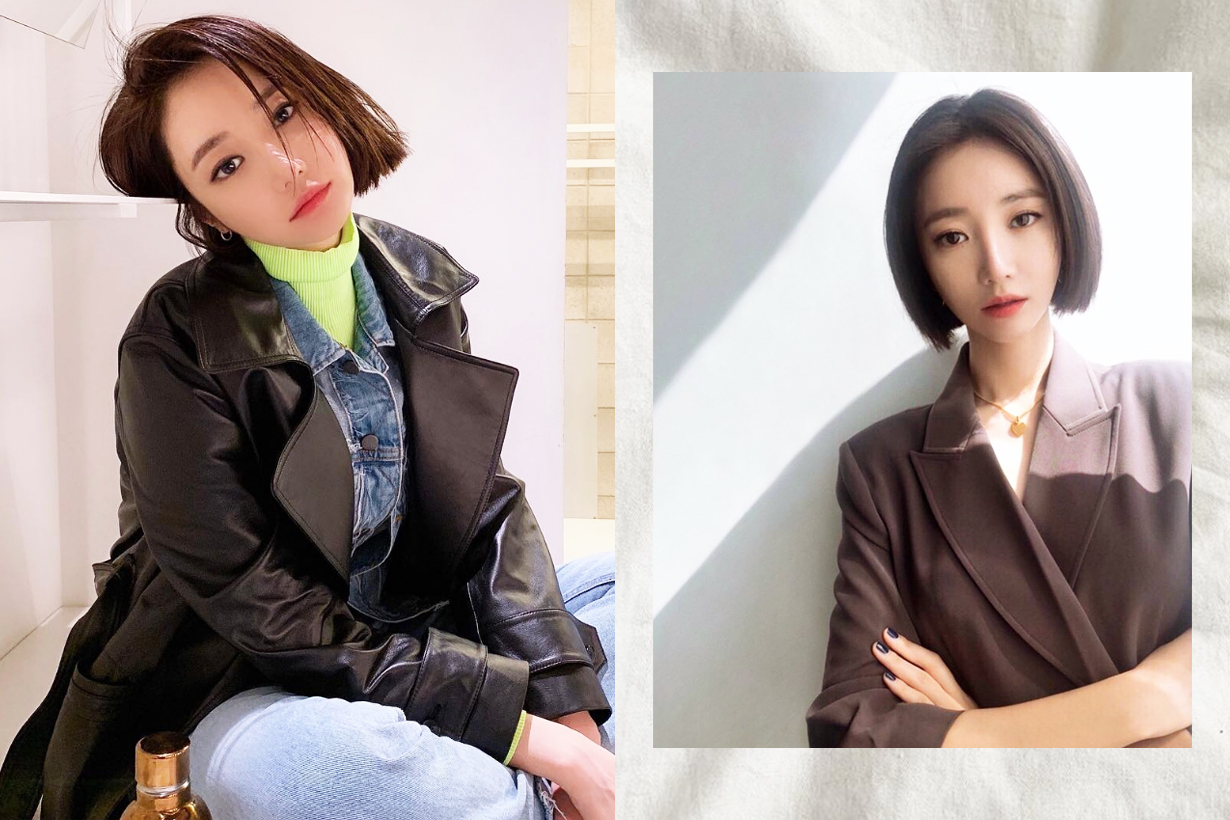 Go Joon Hee Possessed OCN Korean Drama Short Hairstyles perfect examples wavy bob short bob sleek back k pop korean idols celebrities actresses