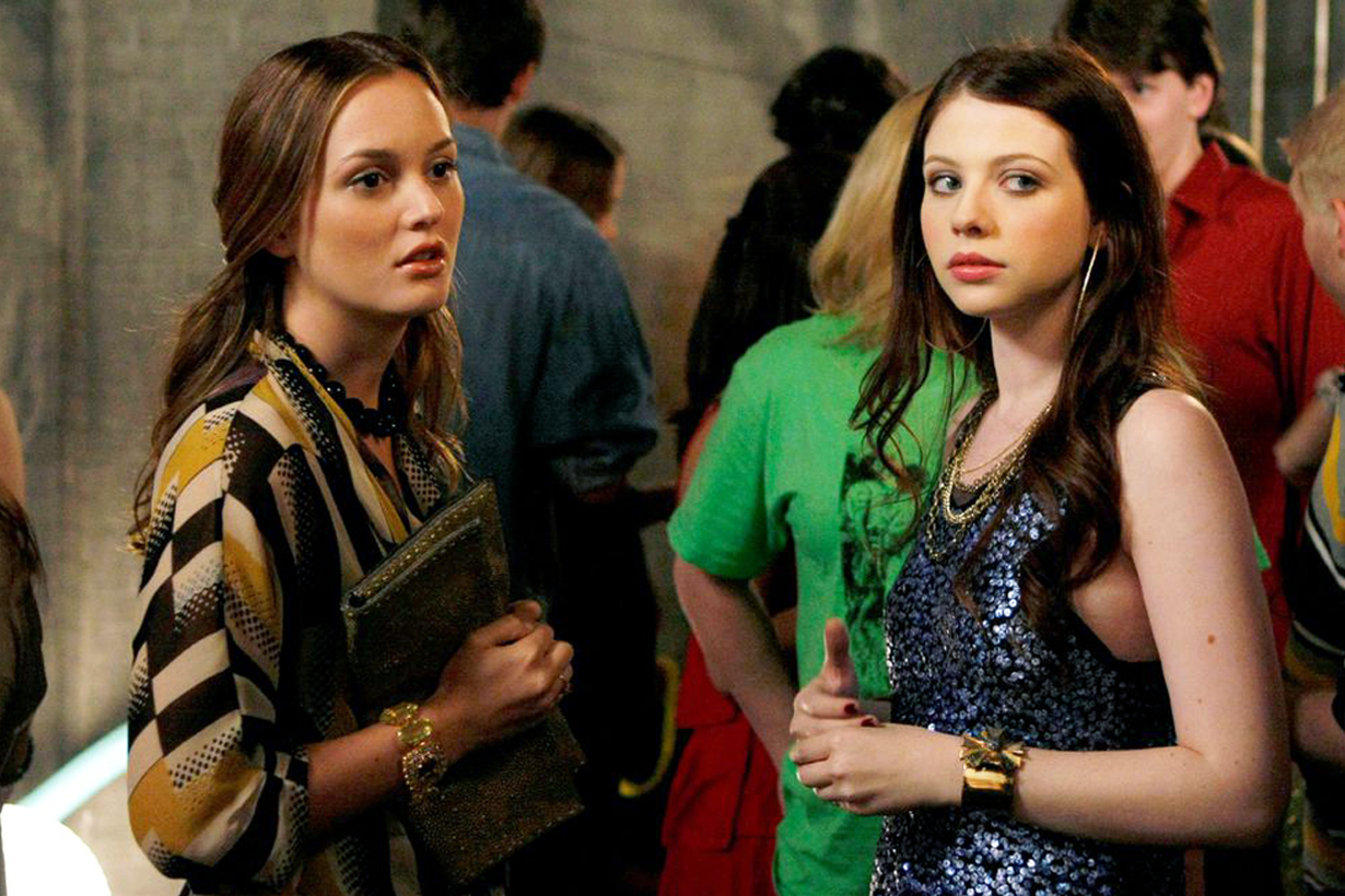 Gossip Girl Blair Waldorf Leighton Meester Georgina Sparks Michelle Trachtenberg Instagram reunion series reboot 1920 style party xoxo gossip girl