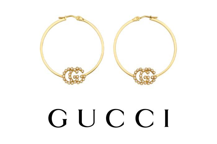 Gucci 新推出金圈水晶耳環率先預覽!高貴首飾盡顯品牌的奢華高級魅力