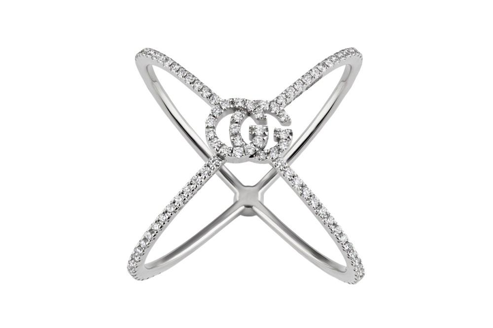gucci silver ring