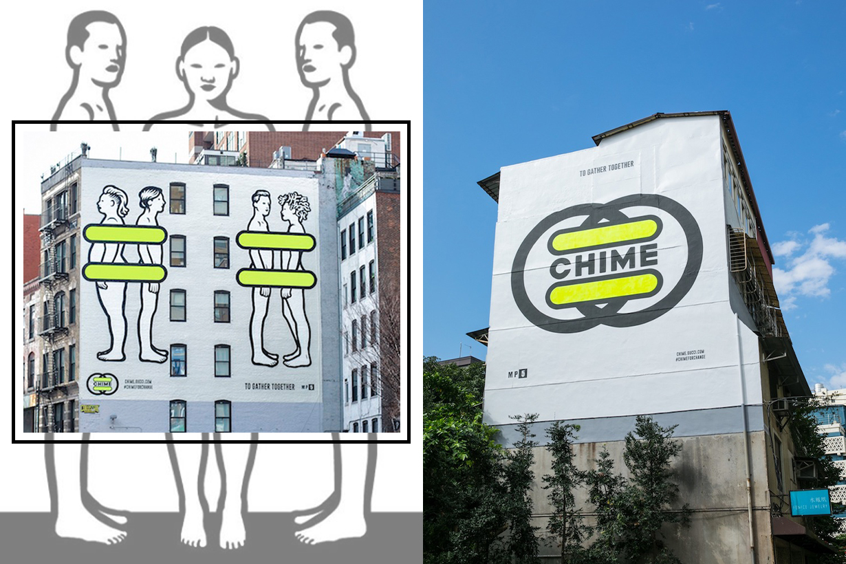 Gucci Chime for Change project 2019 to gather together