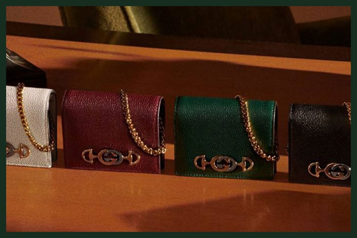 Gucci「一石三鳥」卡片套,可當錢包或極細手袋使用!
