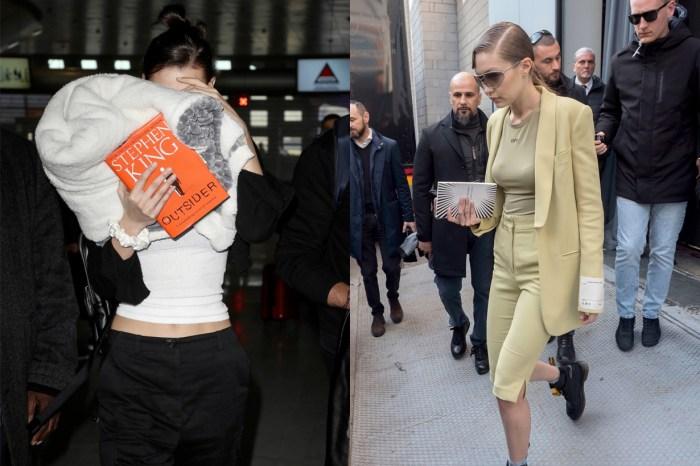 近日頻頻出現在 Hadid 姊妹手上的時髦配件:不是設計師手袋,而是這兩本書!