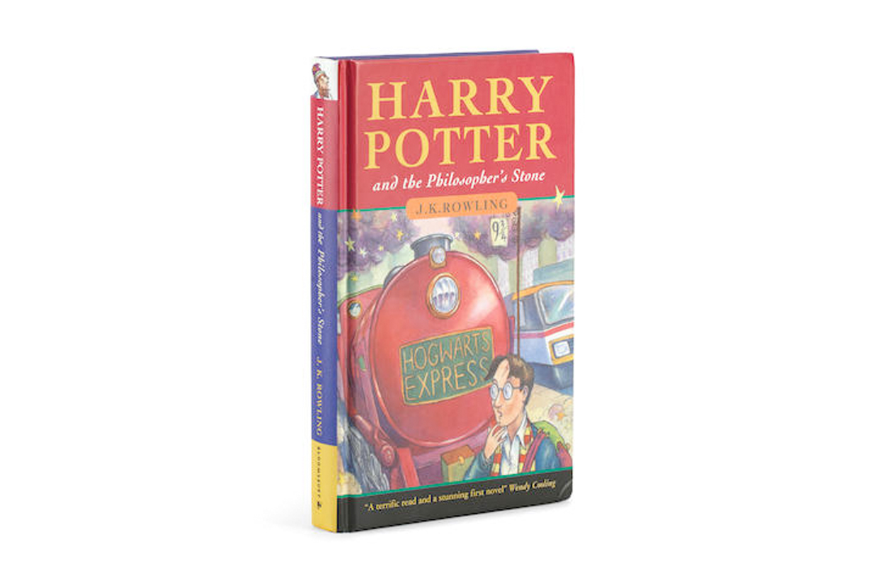 harry potter jk ROWLING first edition auction price