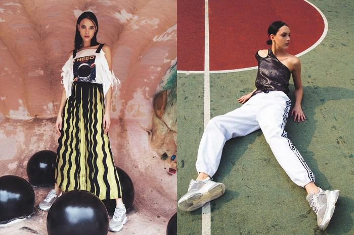 HARVEY NICHOLS 最新時尚造型特輯「Glam Grunge」,衝破你對運動休閒風的想像!
