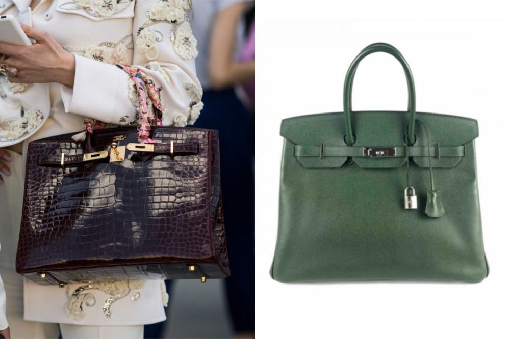Hermès Birkin 35 Leather Handbag