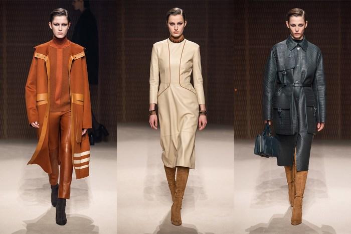 #PFW:Hermès 以皮革打造高貴奢華感,知性女生就是要這樣穿!