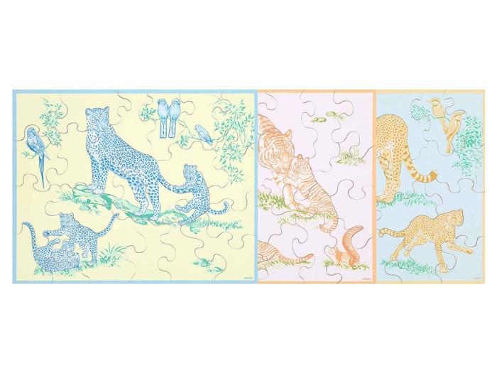 玩具界的 Birkin Bag :Hermès 推出拼圖套裝,誰會捨得讓小孩玩!