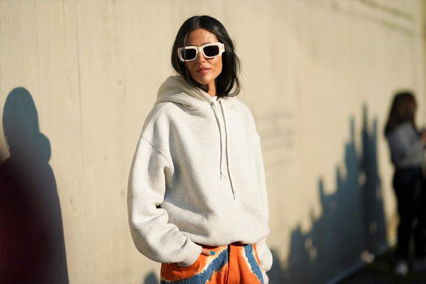 sweatshirt spring outfit idea streetsnaps