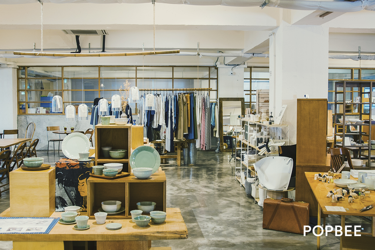 HOW concept store, Japanese furniture and goods, cafe in Kwun Tong Hong Kong