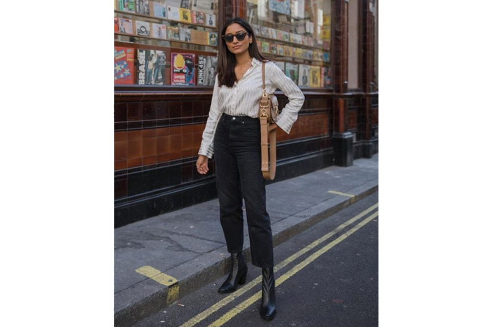 Shirt Skinny Jeans Street Style
