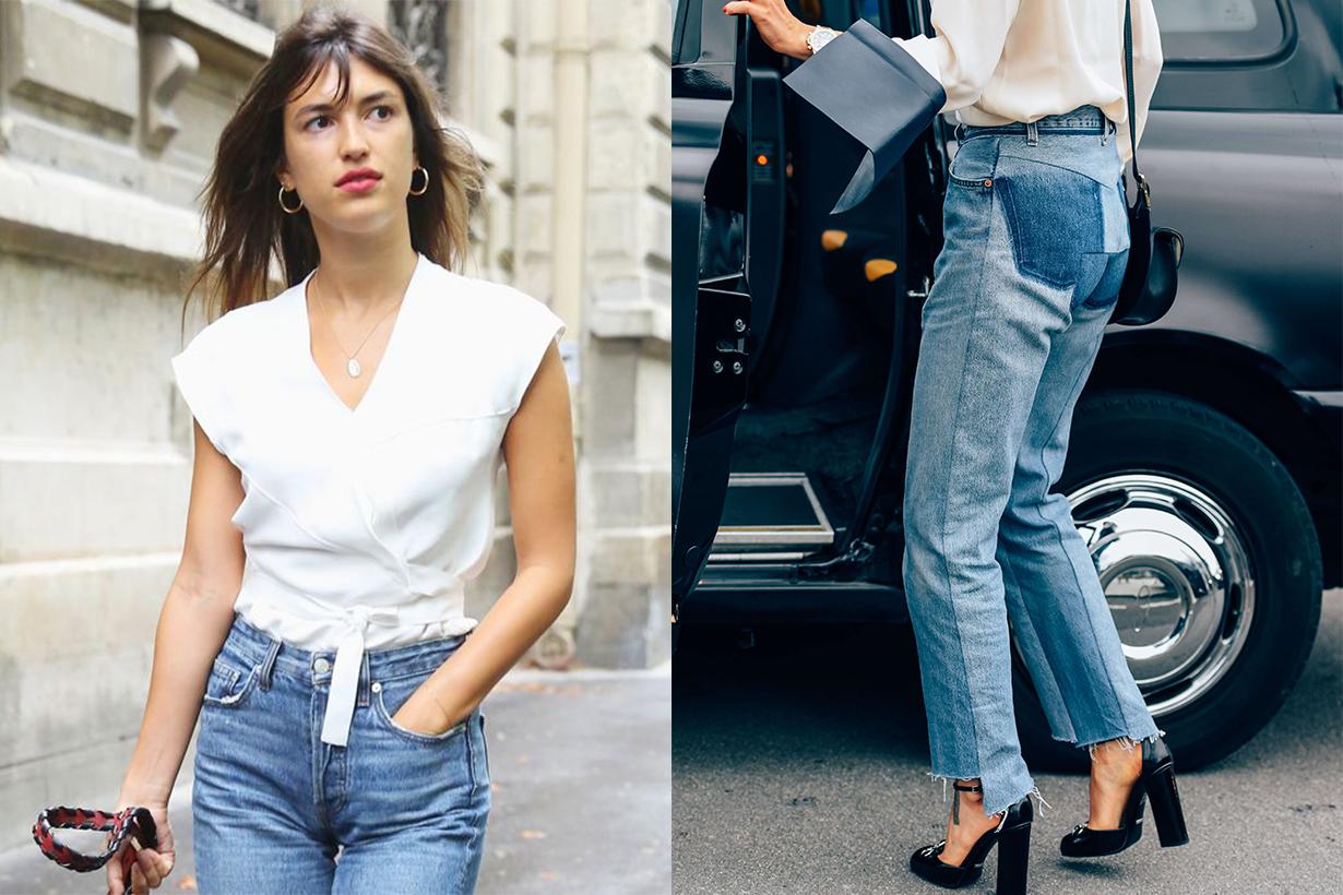 Button Details Jeans Trend 2019