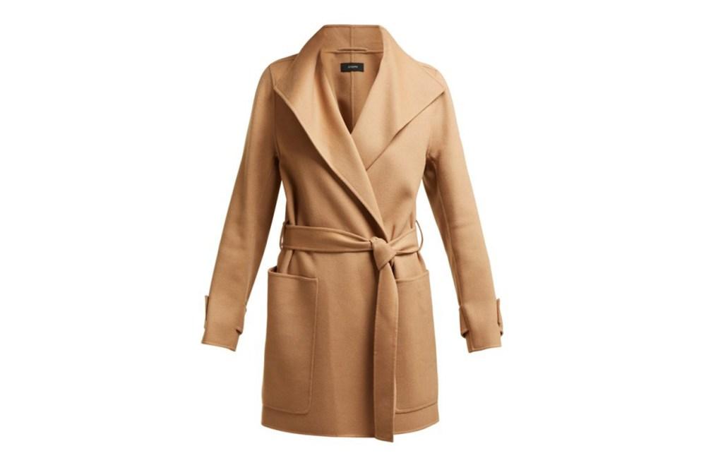 JOSEPH Lista Wool-Blend Coat