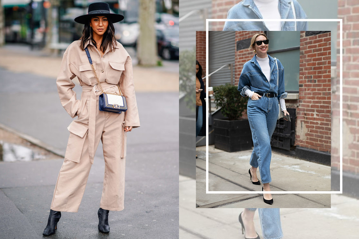 The belted jumpsuit spring trend everyone wore at fashion week