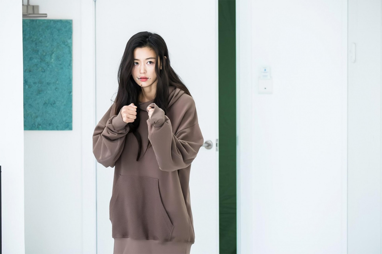 Jun Ji Hyun Hera Nanjing Airport Makeup free Acne Scar showing Rouge & Lounge ad campaign 2019 ss K Pop Korean Idols celebrities actresses