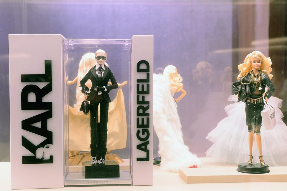 Karl Lagerfeld Barbie 2016