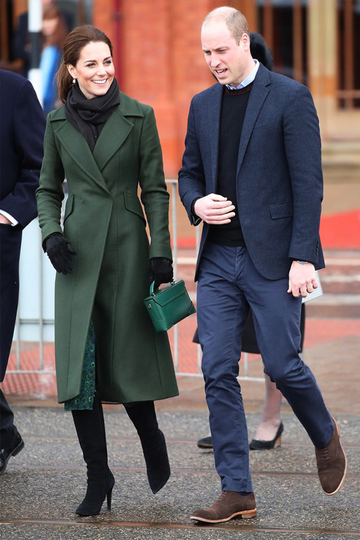 Kate Middleton Wore the knee-high boots