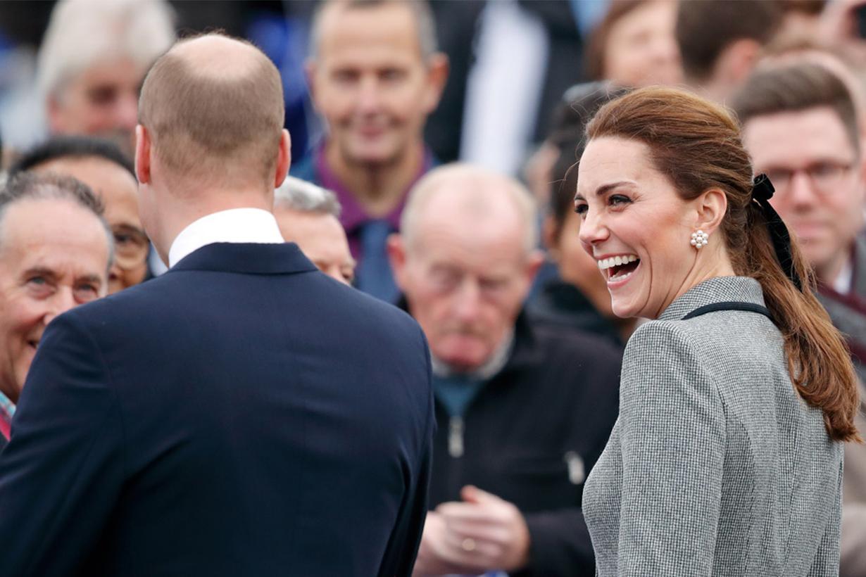 Kate Middleton Prince William Hair Bald BBC Radio 1 Clara Amfo meeting royal British Royal Family