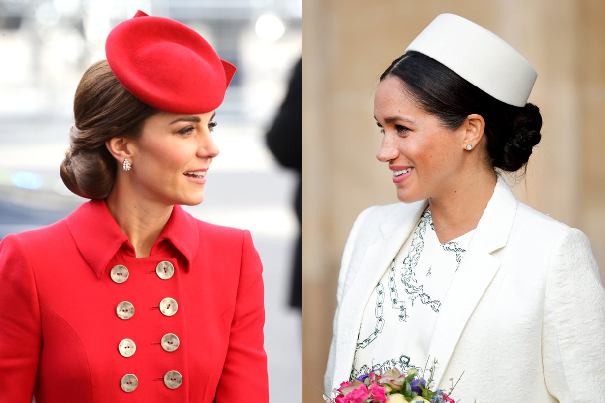 Kate Middleton and Meghan Markle's Body Language