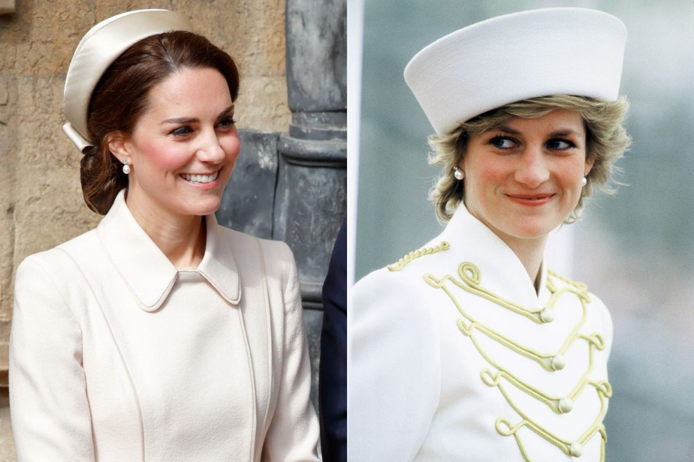 Kate Middleton Princess Diana White Suit Nurse Uniform