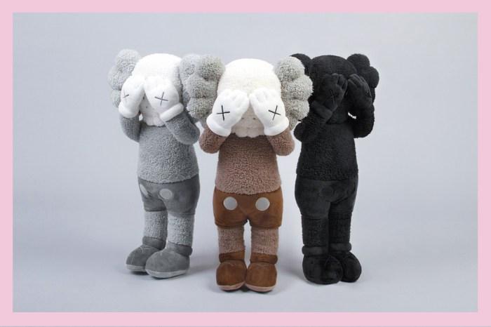 突發!「KAWS:HOLIDAY」香港站加推一系列 20″Companion 毛絨公仔,勢必牽起搶購潮!