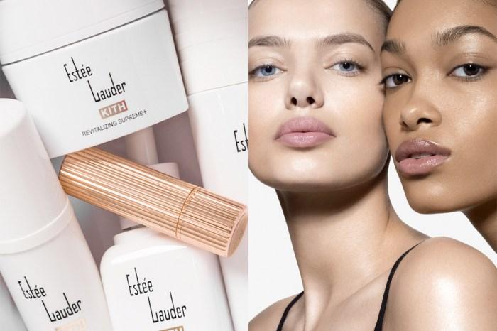 Estée Lauder 復刻了 1946 年的 Logo 推出限量保養品,純白包裝好燒!