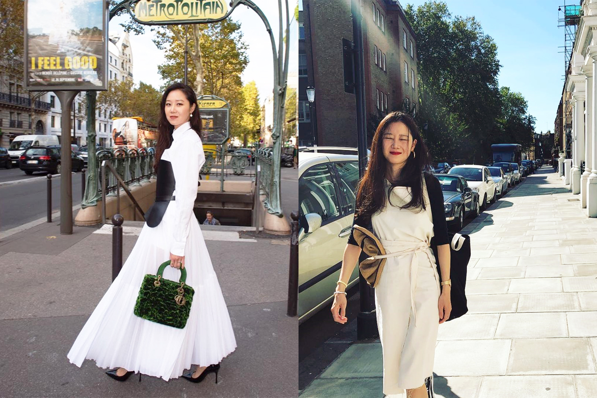 Kong Hyo Jin Marie Claire Korea March Cover Editorial Shooting Christian Dior 2019 Spring Summer Ballerina Maria Grazia Chiuri K Pop Korean Idols celebrities actresses