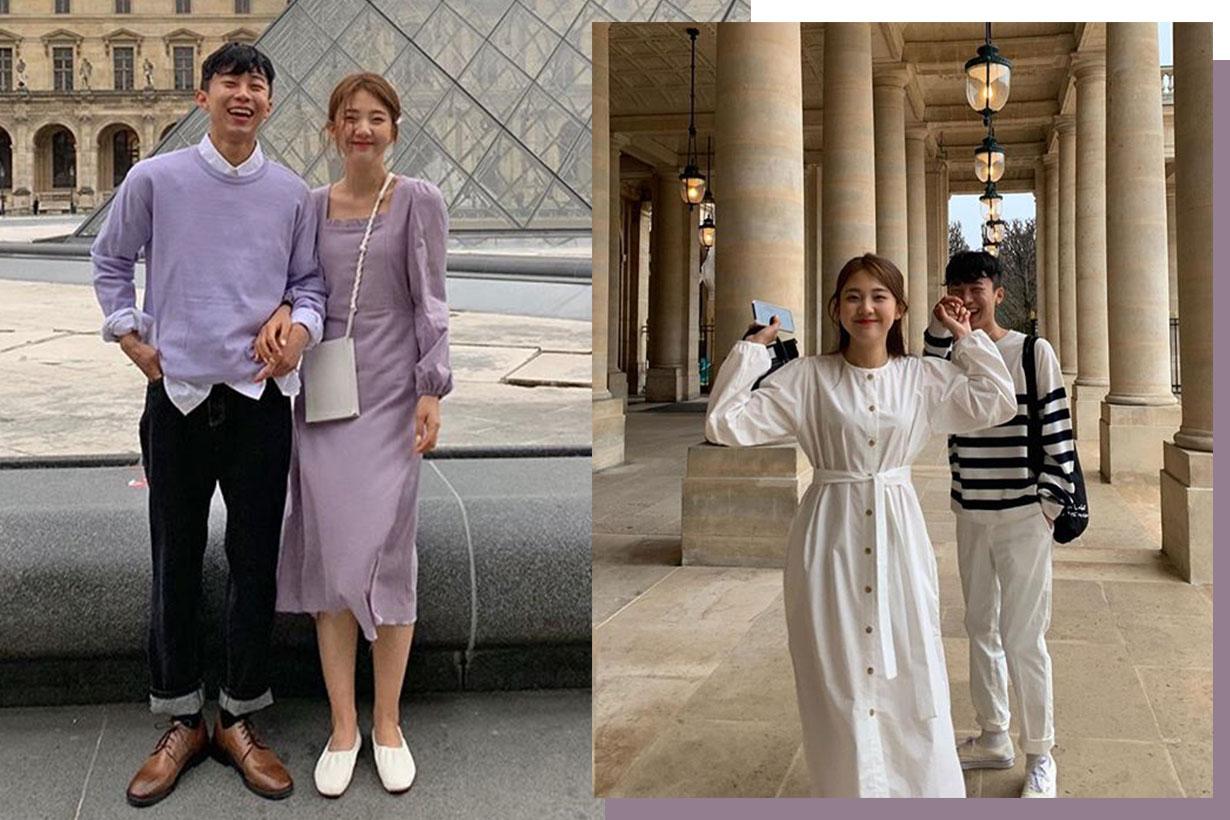 Korean Instagram couple style 2019