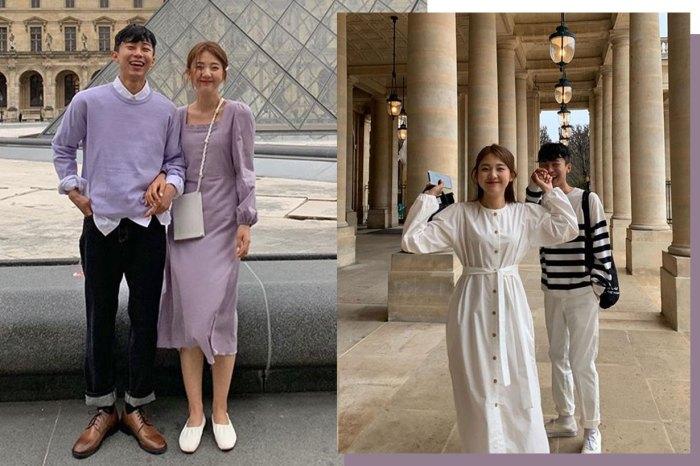 韓國超懂穿小情侶,想模仿他們穿一遍、拍一堆超甜美照!