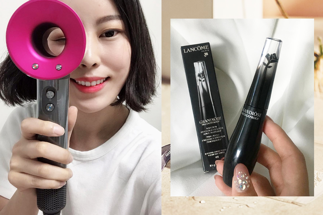Korean girls favourite western brands cosmetics makeup skincare beauty product dyson hair dryer lancome mascara tom ford concealer estee lauder micro essence
