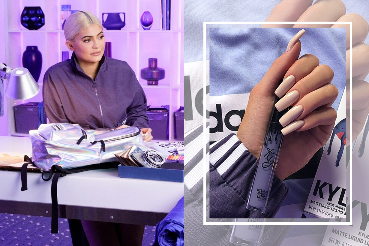 Kylie Jenner x adidas Unveil a Lip Kit-Inspired Falcon & Matching Streetwear