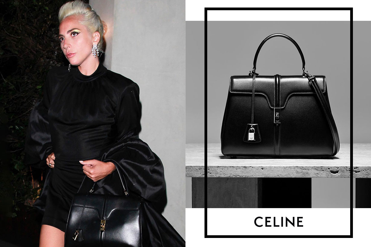 Lady Gaga is carrying the Celine bag everywhere