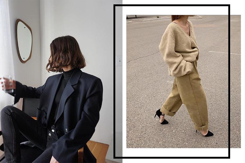 loose pants trend Old Céline