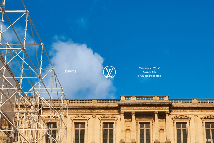 #PFW:邀請你看 Louis Vuitton 2019 秋冬時裝騷直播!