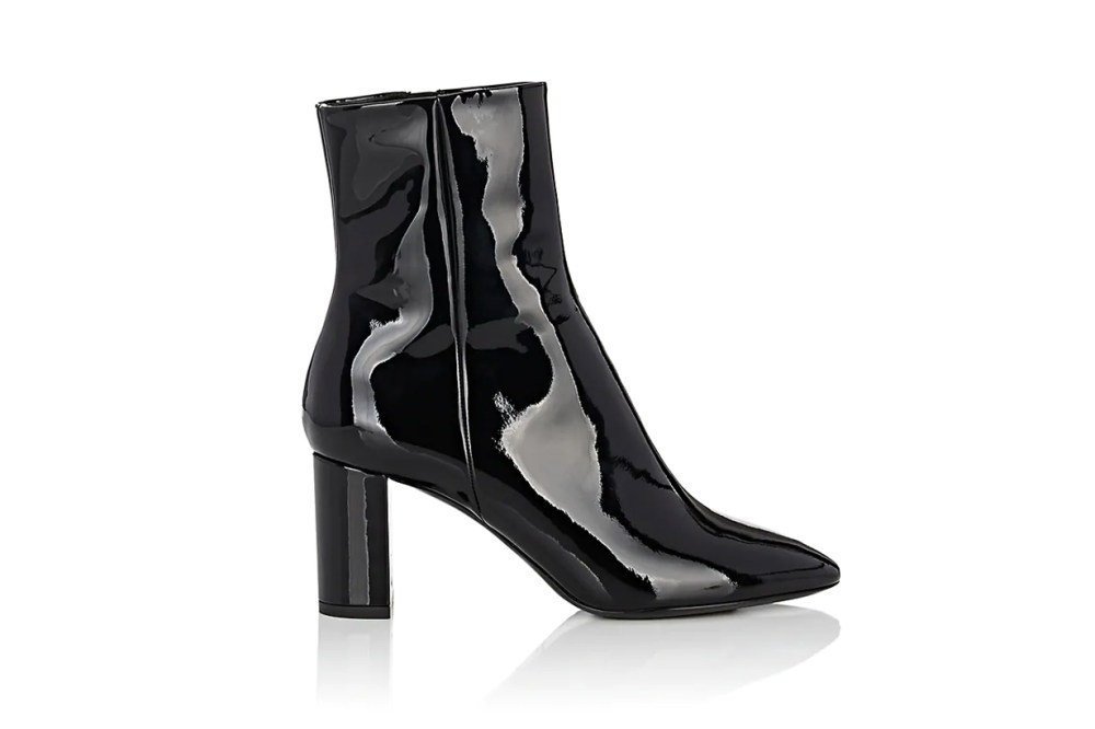 Loulou Patent Leather Ankle Boots