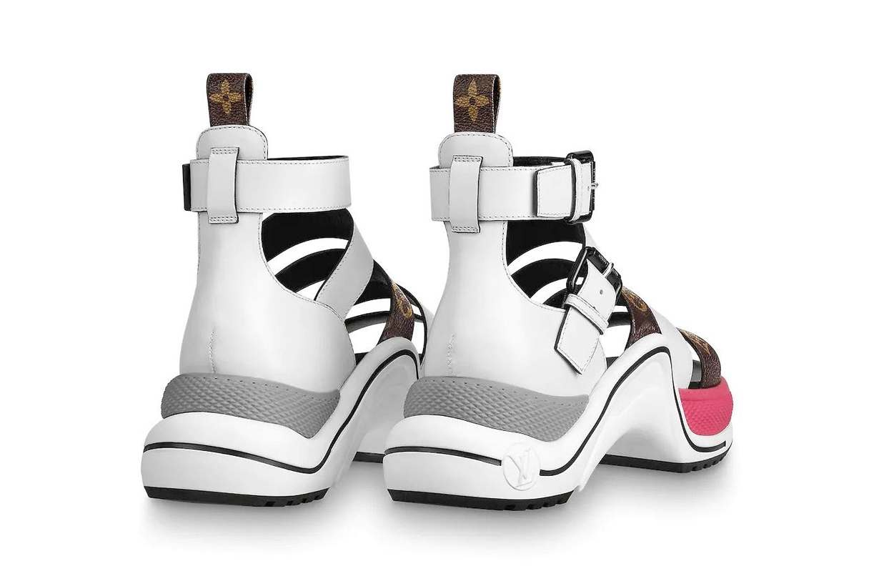 louis vuitton archlight sneaker sandal new release