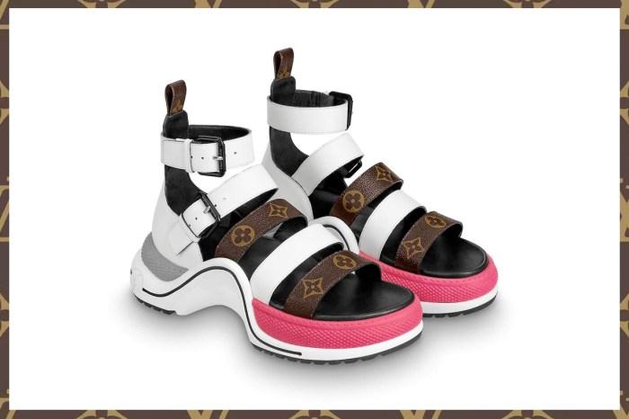 Louis Vuitton 推出全新 Archlight!但不是波鞋,而是春夏不能缺少的涼鞋