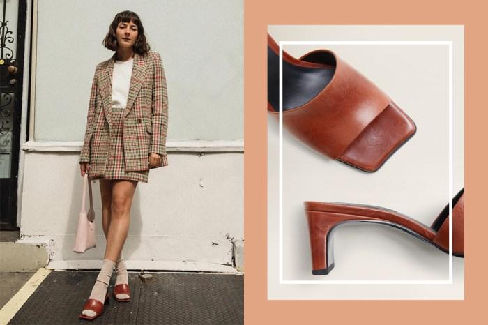 絕對可以媲美高級名牌!這對輕奢華涼鞋竟然來自親民品牌 Mango?