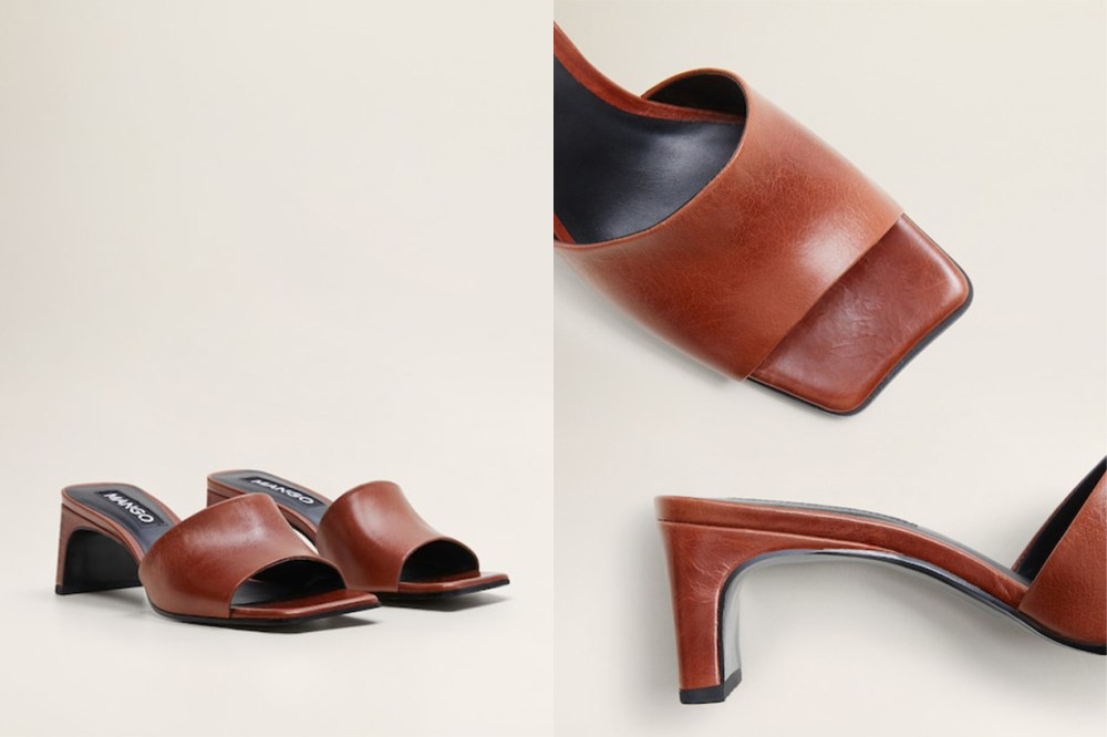 mango mule sandal