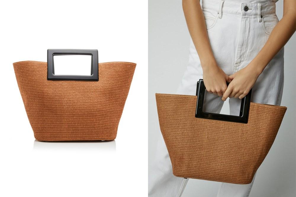 marina raphael straw bag
