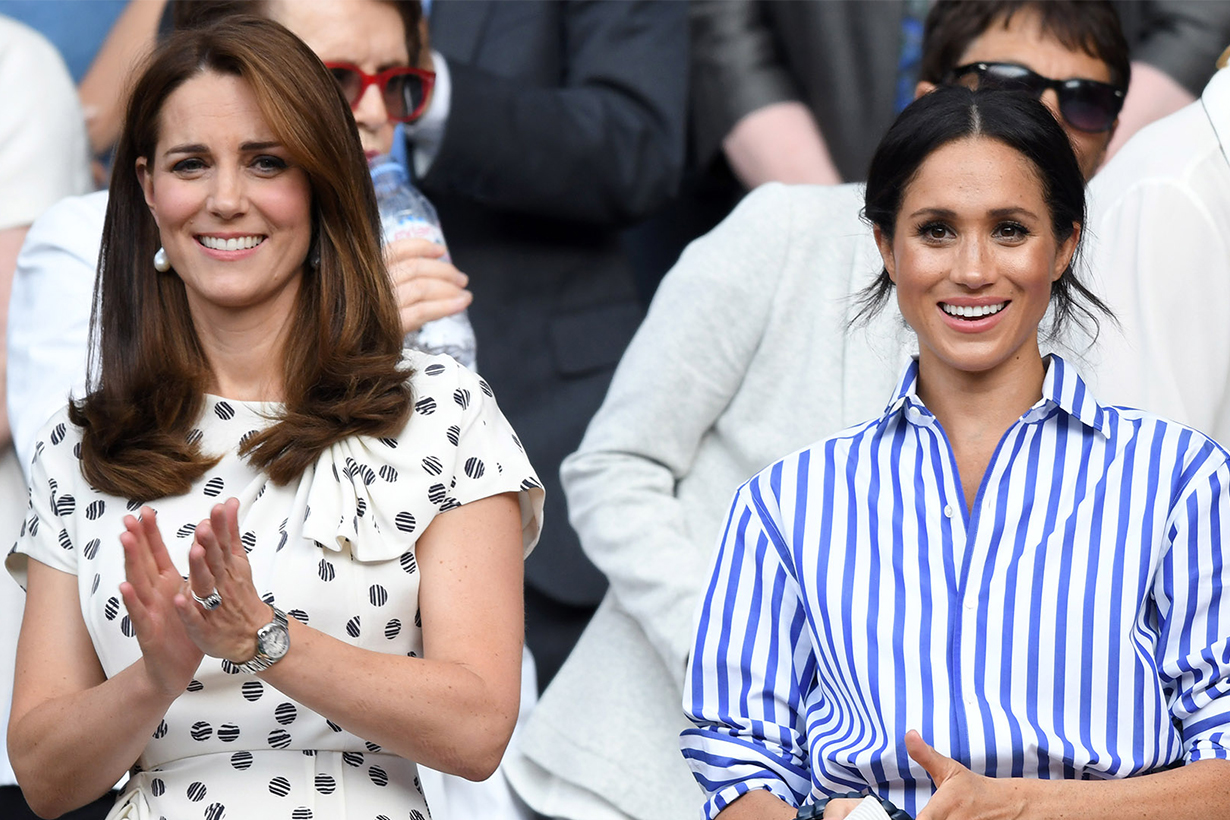 Meghan Markle Gets Her Style Advice From Kate Middleton