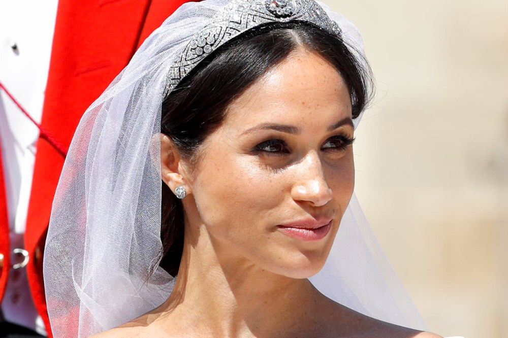 Meghan Markle Prince Harry Duchess of Sussex Royal Wedding Wedding Makeup style Daniel Martin flawless glowy base makeup wedding dress British Royal Family