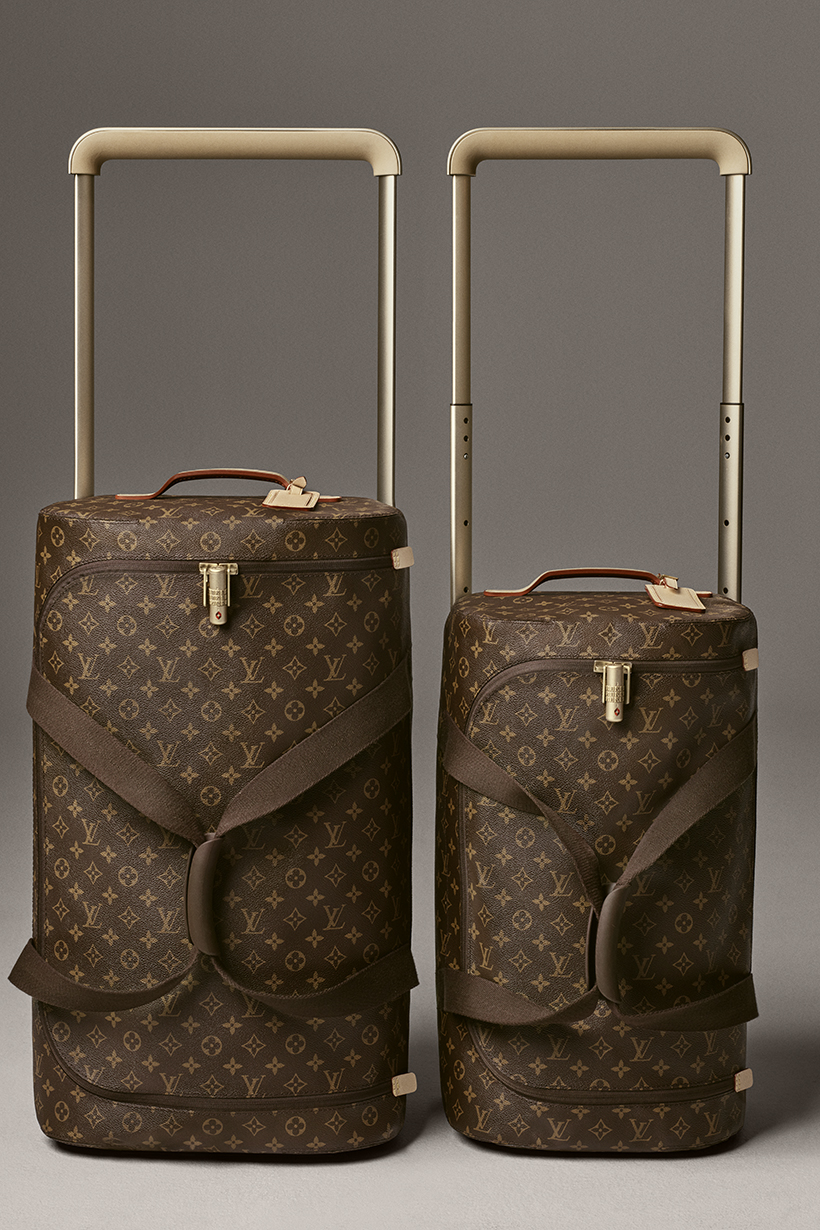 Louis Vuitton marc newson luggage