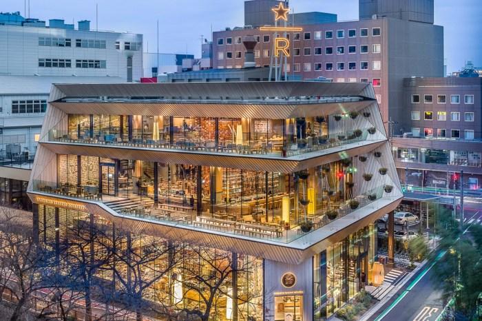 又一家必造訪絕美 Starbucks,位於東京中目黑的四層樓獨棟旗艦店!