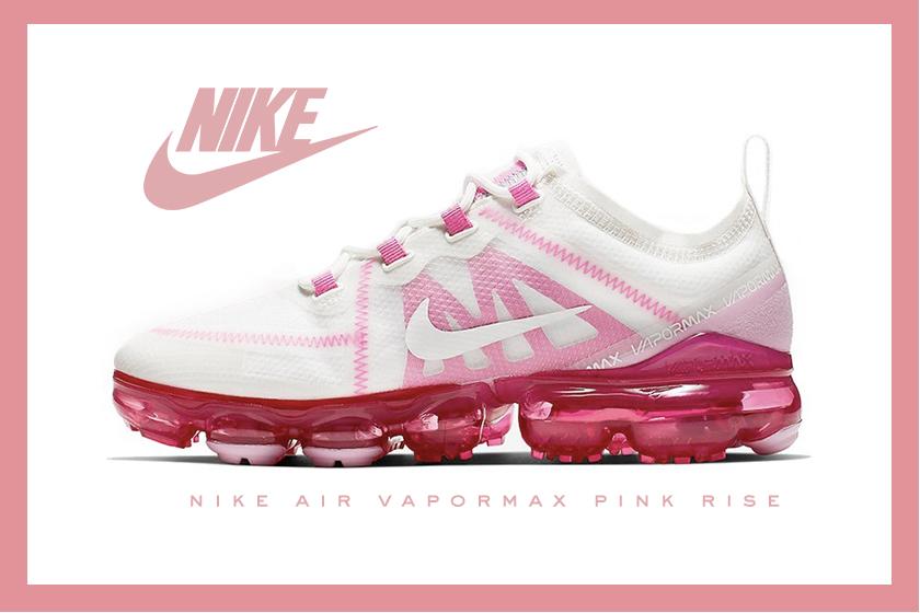 nike-air-vapormax 2019 sneakers Pink Rise